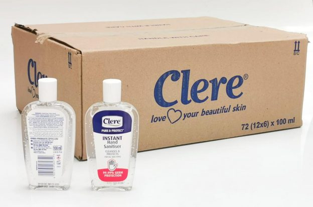 clere hand sanitizer